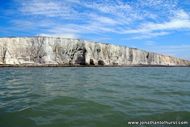 Sea Cliffs between Brighton and Newhaven