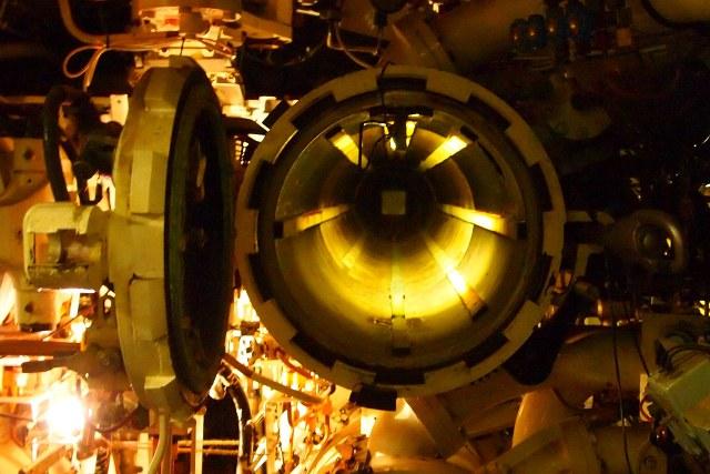 HMS Ocelot Torpedo Tube