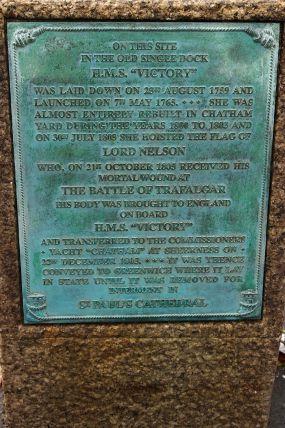 Victory Memorial Plaque
