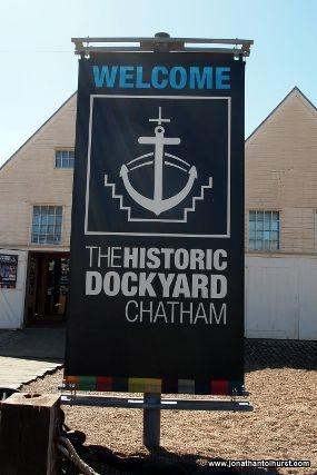 The Historic Dockyard at Chatham