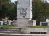 Graffiti on War Memorial in Corfu Town