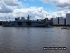 First Glimpse of HMS Ocean (L12)
