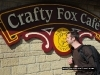 Jonathan Tolhurst with the crafty-fox
