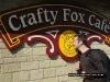 Jonathan Tolhurst with the crafty-fox