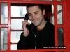 Jonathan Tolhurst on the telephone