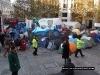 Police patrolling Paternoster Square