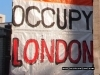 Occupy London Signage