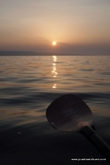paddling-into-the-sunrise-near-sidmouth