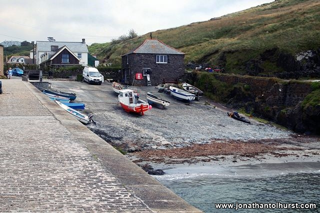 The harbour at Mullion Cove