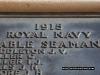1915 Able Seaman EW Tolhurst