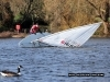 Up she comes - South Norwood Lake Capsize