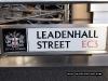 Leadenhall street signage