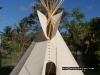 my  Teepee in daylight