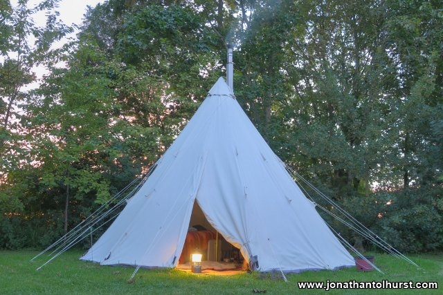 teepee-at-sunset