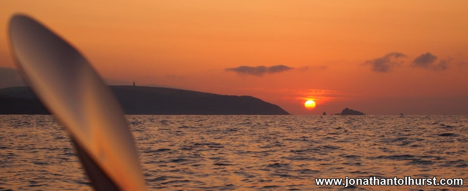 Sunrise off Dartmouth Sea Kayaking Jonathan Tolhurst Photography
