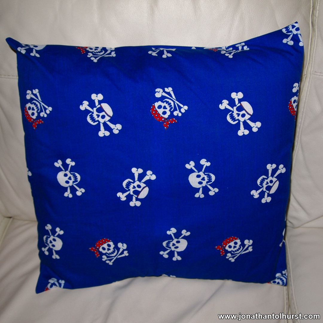 Pirate Fabric Cushion Cover