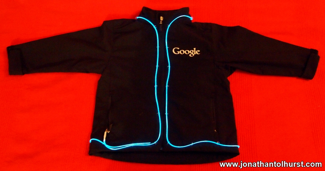 Custom Google eLWire Jacket
