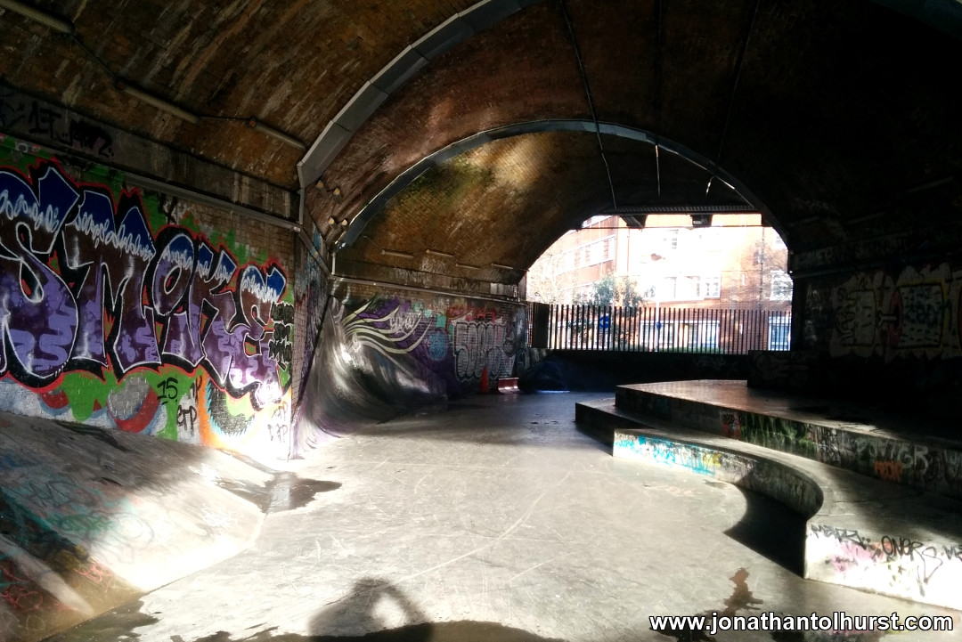 White Grounds Skate Park
