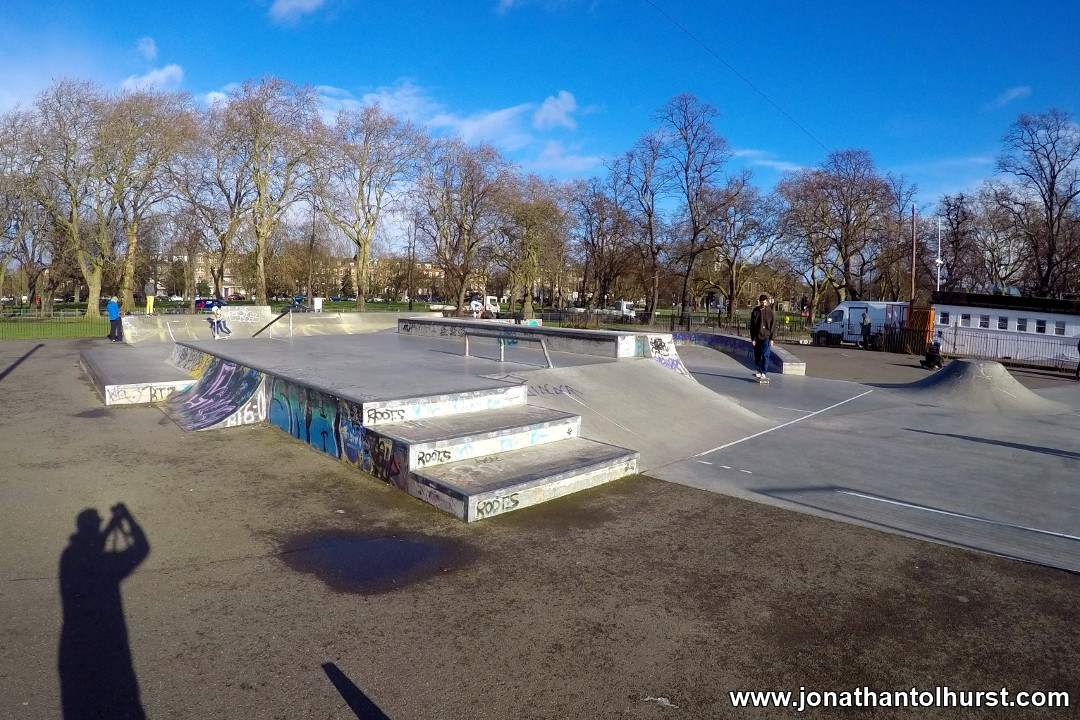 Clapham Common Skate Park 1