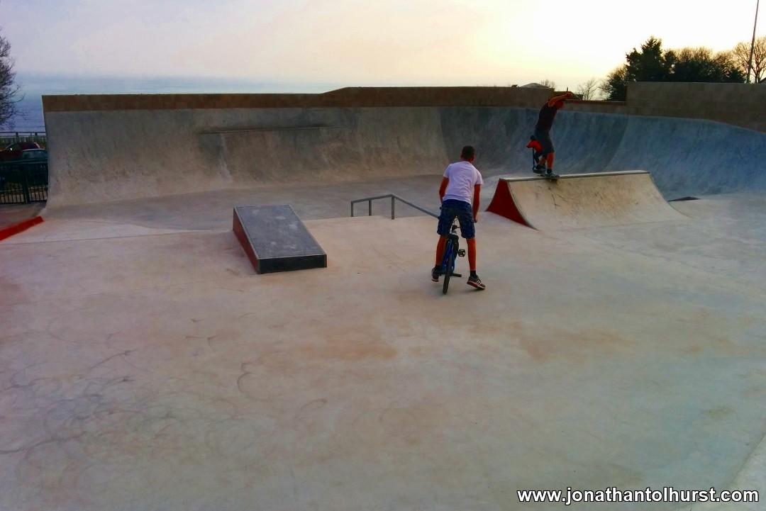 Lyme Regis Skate Park
