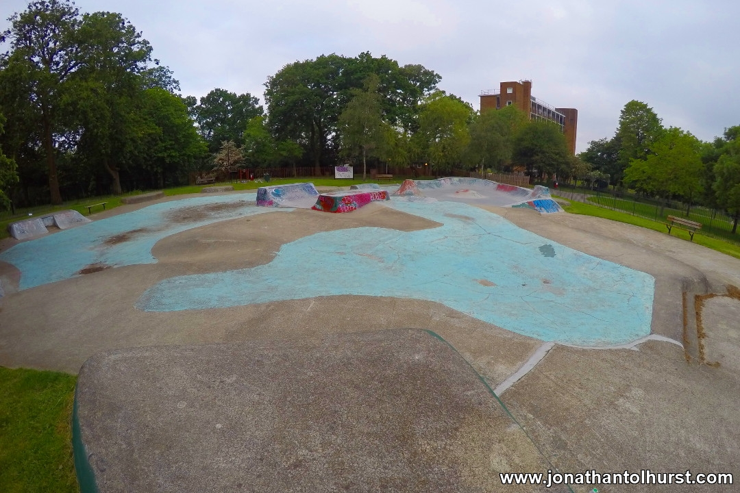 Bloblands (Norwood Park) Skatepark 2