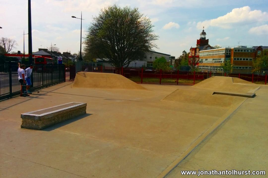 Cantelowes Skatepark Camden