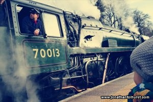 Steam Train at Bromley South